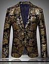 Bărbați Zvelt Mărime Plus Size Blazer Club Exagerat Sofisticat Imprimeu Bumbac