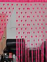 Canal pentru tijă Un Panou Tratamentul fereastră Designer  Inimi Sufragerie Poliester Material perdele, draperii Pagina de decorare