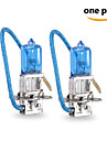 2 buc gmy 55w 1450 ± 15% lm 3800k cu halogen lumina masina h3 12v albastru