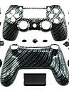 înlocuire caz controler pentru controler PS4 (alb-negru)