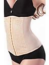 Pentru femei Cârlig & Ochi Corset sub Bust Plus Size Poliester Dantelă Peteci Negru Rosu Maro Deschis