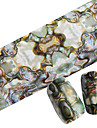1pcs Glitter & Poudre Folie Stripping Tape Nail Stamping Template Daglig Mode Punk Høj kvalitet