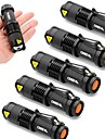 UltraFire SK68 Lampes Torches LED LED 2000 lm 3 Mode Cree XR-E Q5 Faisceau Ajustable Resistant aux impacts Impermeable Ultra leger Haute