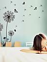 Romantic Modă Florale Peisaj Perete Postituri Autocolante perete plane Autocolante de Perete Decorative Material Detașabil Re-poziționabil