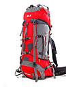 BSwolf 85 L ryggsäck Camping Klättring Fritid Sport Resa Fuktighetsskyddad Vattentät Snabb tork Regnsäker Damm säker Bärbar Nylon