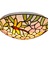 CXYlight Tiffany Montage du flux Lumiere d'ambiance - Style mini, 110-120V 220-240V Ampoule non incluse