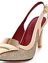 Pantofi pentru femei-Luciu / Imitație de Piele-Toc Stiletto-Tocuri / Pantof cu Berete / Vârf Ascuțit-Sandale / Pantofi cu Toc-Rochie /