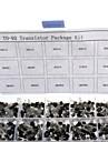 750pcs 15kindsx50pcs till 92 transistor kit + detaljhandeln box (a1015, c945, c1815, s8050, s9012,2n2222 ...)