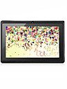 7 tum Android Tablet (Android 4.4 1024 x 600 Quad Core 512MB+8GB) / 32 / Mini USB / TF-Kortplats / IPS