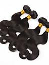 Tissages de cheveux humains Cheveux Bresiliens Ondulation naturelle 6 Mois 3 Pieces tissages de cheveux