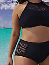 Pentru femei Bikini - Culoare pură, Culoare solidă