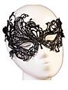 Carnaval Masque Homme Femme Halloween Fete / Celebration Deguisement d\'Halloween Noir Couleur Pleine Dentelle