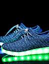 Băieți Fete Pantofi Tul Primăvară Toamnă Confortabili Adidași Dantelă LED pentru Casual Negru Roz Albastru Verde