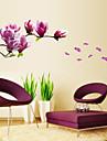 Stilleben Mode Blommig Botanisk Fritid Väggklistermärken Väggstickers Flygplan Dekrativa Väggstickers Bröllopstickers, pvc Hem-dekoration