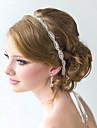 cristal plin de flori realizate manual din satin panglică dantelă sus Bandă de susținere pentru petrecerea de nunta bijuterii doamnă păr