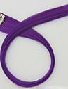 longueur pourpre 60cm perruque synthetique longue couleur de cheveux raides (couleur 2411)