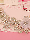 tul de imitație perla stras cercei curea stil elegant