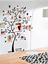 Stilleben Mode Botanisk Väggklistermärken Väggstickers Flygplan Dekrativa Väggstickers, pvc Hem-dekoration vägg~~POS=TRUNC Vägg