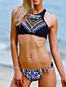 Dame Nailon Push-up Cu Susținere,Bikini Floral Boho Sport Solid