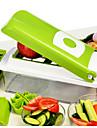 1 st Apple Morot Orange Lök Gurka Tomat Skärare & Skivare For för frukt för grönsaker Rostfritt StålMultifunktion Hög kvalitet Kreativ