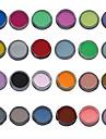 24 pcs Akrylpulver / Pudder Abstrakt / Klassisk Daglig
