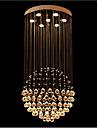 7-Light Lumini pandantiv Lumină Spot Galvanizat Metal Cristal, LED 110-120V / 220-240V Alb Cald Bec Inclus / GU10