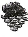 Aluminium Spännen Spännen 50 Hårförlängningsverktyg