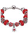 Pentru femei Dame Brățări cu Talismane Brățări Bangle Brățări Bantă Bratari Strand Silver Bracelets Cristal Adorabil Ștrasuri European