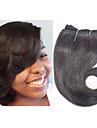 4 Связки Индийские волосы Естественные кудри Натуральные волосы Омбре 8 дюймовый Ткет человеческих волос Расширения человеческих волос