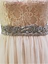 buzunare elastice de satin nunta cu imitație de perle stil elegant