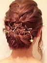 Cristal / Material Textil / Aliaj Diademe / Clip de păr / agrafa 1 Nuntă / Ocazie specială / Party / Seara Diadema / Pini de păr