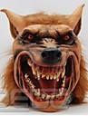 masca de latex Halloween masca de lup înfiorător cap de animal măști pentru petrecerea de Halloween Cosplay costum obscen picătură