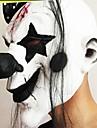 amuzant infricosator masca de clovn petrecere de Halloween masca noua latex an clovn costum Cosplay masti pentru fata plin cu parul lung