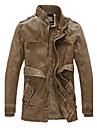 Bărbați Stand Jachetă Mată Stil modern