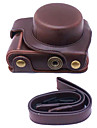 dengpin® PU aparat de fotografiat din piele caz acoperire sac pentru panasonic lentile gf8 12-32mm (culori asortate)