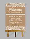e-acasă personalizate nunta personalizate indicator pentru desktop cadou de nunta numele decor personalizat și data (conțin șevalet de