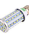 E26/E27 Becuri LED Corn T 60 led-uri SMD 5730 Decorativ Alb Cald Alb Rece 1500-1600lm 2800-3200/6000-6500K AC 85-265 AC 220-240 AC 110 -
