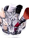 cristal maquillage boite de stylo boite de boite de rangement conteneur / salle de bains organisateur / maquillage acrylique contenant des