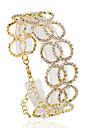 Pentru femei Brățări cu Lanț & Legături - Modă Brățări Bijuterii Argintiu / Auriu Pentru Nuntă Petrecere Zilnic Casual