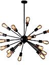 Ecolight™ Rétro Lampe suspendue Lumière d'ambiance - Style mini, 110-120V 220-240V Ampoule non incluse