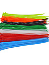 100pcs / sac attacher le cable autobloquant cable 4x200mm nylon fermoir a fermeture eclair