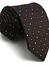 bărbați drăguț partid de lucru casual raion cravata polka dot color bloc jacquard, de bază