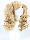 Synthetische Peruecken / Peruecken Locken Blond Mit Pferdeschwanz Blondine Synthetische Haare Damen Blond Peruecke Kappenlos hairjoy