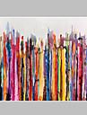 Pictat manual Abstract Natură moartă Orizontal,Modern Pastoral Un Panou Canava Hang-pictate pictură în ulei For Pagina de decorare