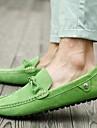 Bărbați Pantofi Piele de Căprioară Vară Mocasini & Balerini Pentru Casual Negru Maro Rosu Verde Albastru
