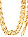 Bărbați Dame Seturi de bijuterii Colier / bratara La modă Placat cu platină Placat Auriu Coliere Brățară Pentru Nuntă Petrecere Zilnic