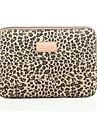 laptop clasic leopard notebook manșon laptop sac caz acoperire sac de linie rezistent la socuri de 15.6 inch