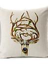 1 buc Bumbac/In canapea pernele Pernă de Corp, Imprimeu Animal Modern/Contemporan
