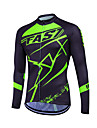 Fastcute Homme / Femme Manches Longues Maillot de Cyclisme Velo Maillot, Sechage rapide, Respirable, Anti-transpiration Coolmax®