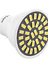 ywxlight® gu10 lumina reflectoarelor 32 smd 5733 500-700 lm cald alb rece alb decorativ ac 220-240 ac 110-130 v